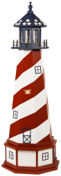 Patriotic Lighthouses